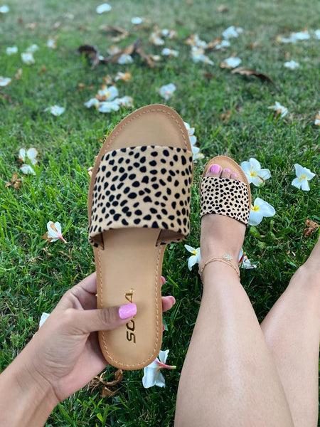 Leah Sandals - Cheetah