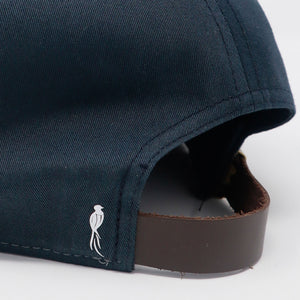 Gray Bird 7-Panel Cap