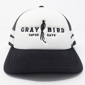 Gray Bird Foam Trucker Cap