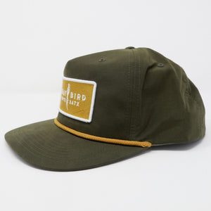 Gray Bird Grandpa Cap