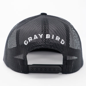 Gray Bird Trucker Cap
