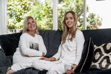 Load image into Gallery viewer, Fleur-de-Lis Cotton Knit Pyjama Set