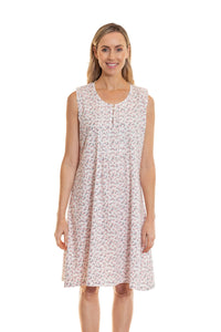 Gabrielle Cotton Sleeveless Nightie
