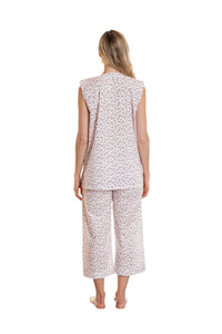 Gabrielle Cotton Sleeveless Pyjama Set