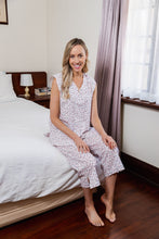 Load image into Gallery viewer, Gabrielle Cotton Sleeveless Pyjama Set