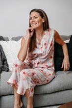 Load image into Gallery viewer, Sophia - Sleeveless Cotton Pyjama Set