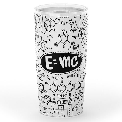 Mass Energy Equivalence Tumbler All Over Print - Simple Mindset