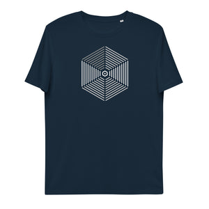 Geometric Inspiration Unisex Organic Cotton T-Shirt | Simple Mindset - Simple Mindset
