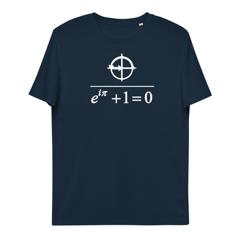 Euler's Identity Unisex Organic Cotton T-Shirt | Simple Mindset
