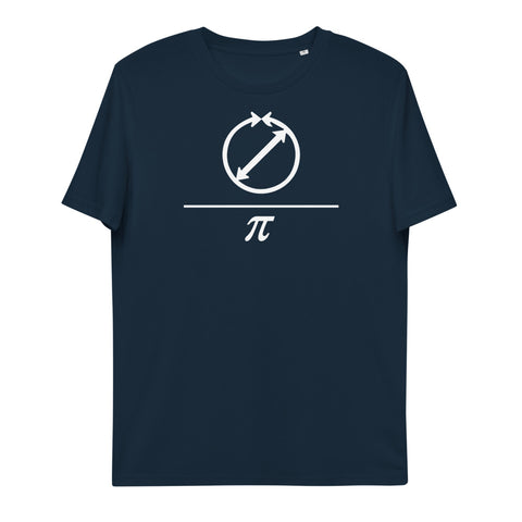 Pi Unisex Organic Cotton T-Shirt | Simple Mindset