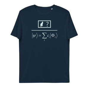 Quantum Superposition Unisex Organic Cotton T-Shirt | Simple Mindset