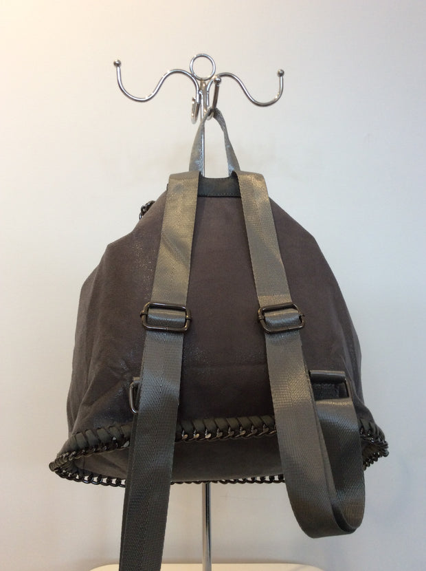 Mulberry Style Backpack In Grey Bag