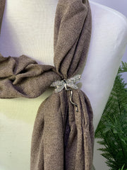 Vintage Dragonfly Magnetic Detailed Scarf