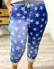 Magic Tracksuit Jogger Denim Small Star Cargo Pants