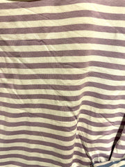 Chelsea Candy Stripe Premium Zippy Long sleeve lounge Layering Top