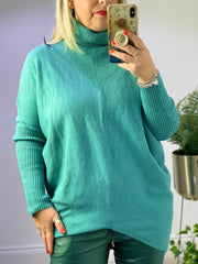 Uber 11 Roll Neck Rise Front Jumper