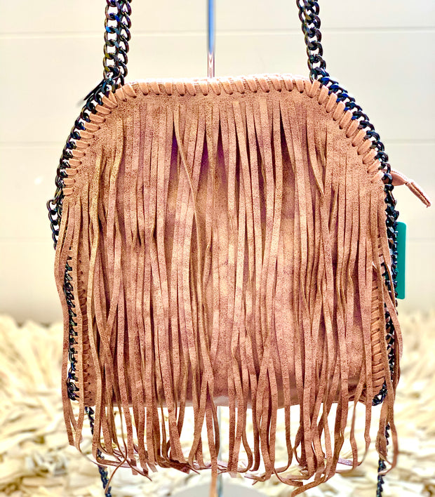 Stella McCartney Style Small Bag chain With Fringe