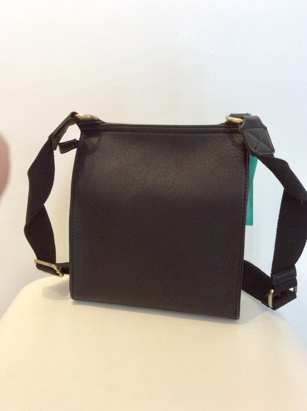 Mulberry Style Cross Body Bag Black