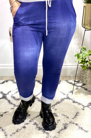 Mid Denim Magic joggers Bottoms Trousers