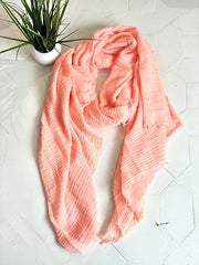Bebe Muslin Long wrap scarf