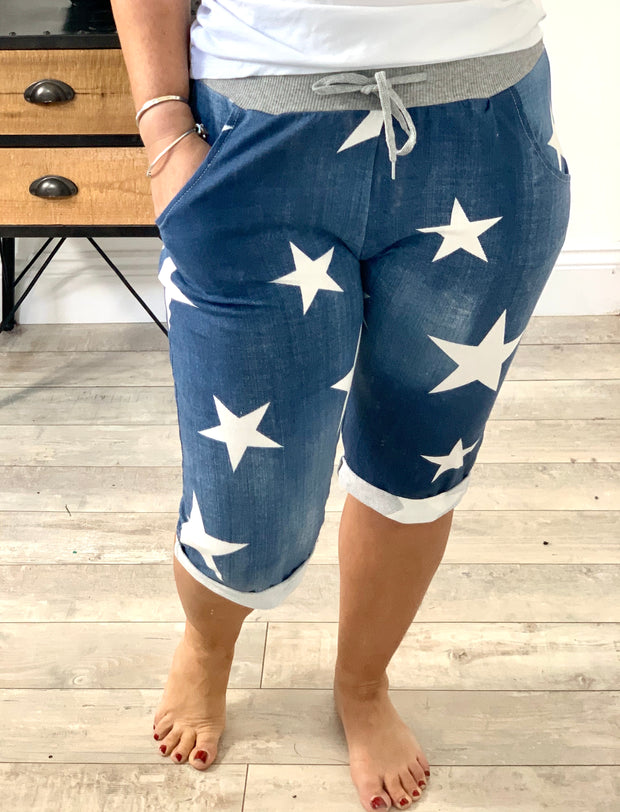 Magic Stretch Star Jogger Shorts