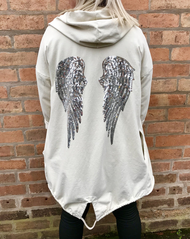 Angel Wing Parker Style Jacket CLICK FOR MORE COLOURS