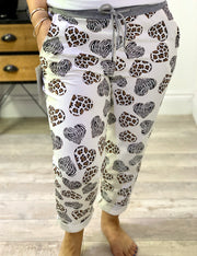 Magic Tracksuit Jogger Patterned hearts Cargo Pants
