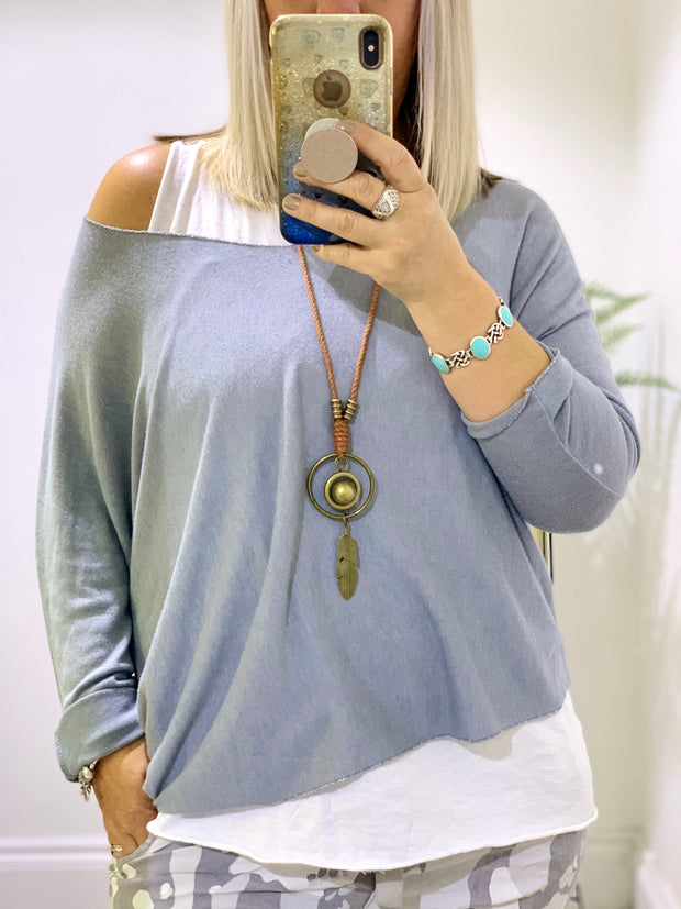 Double Vest Top With Free Necklace the Issy Top CLICK FOR MORE COLOURS