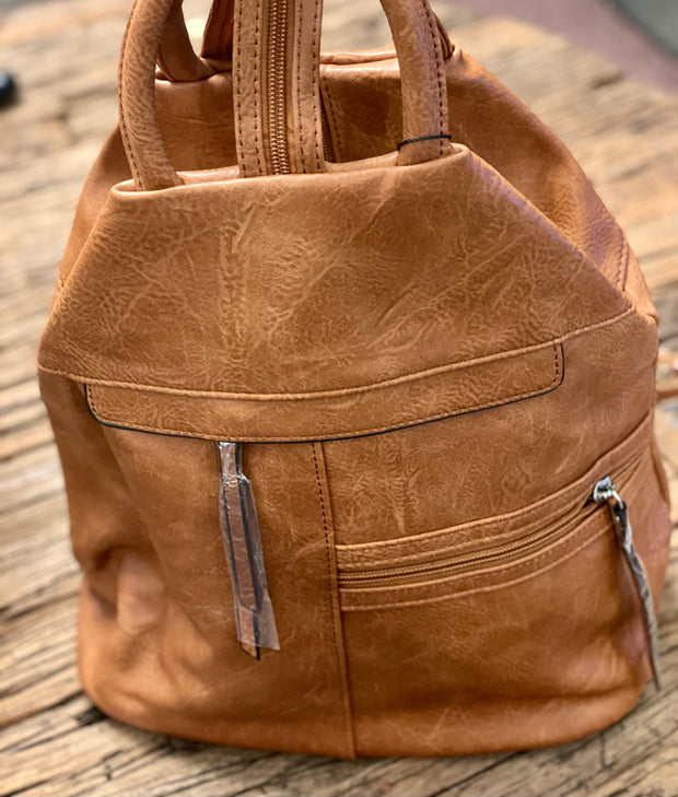 The Lennox 2 Way Zippy Backpack