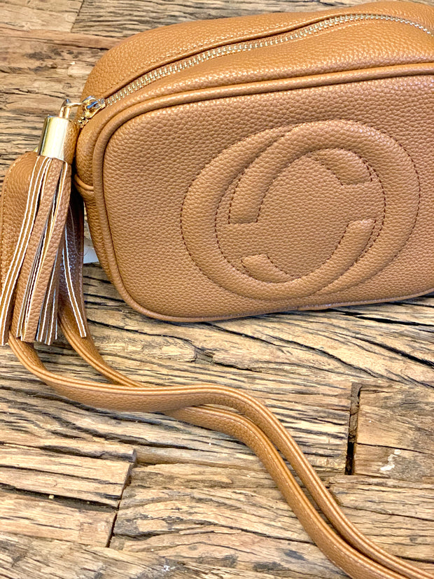Gucci Inspired Cross Body Bag With Tassel