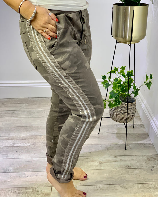 Gucci Inspired Magic Joggers Trousers