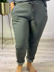 Basic Magic Plain Joggers Trousers