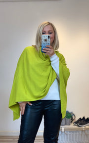 Super Soft Knit Cowell Neck Poncho Shawl Wrap by Sugerbabe