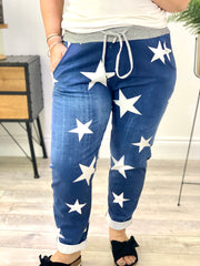 Magic Tracksuit Jogger Denim star Cargo Pants 911111