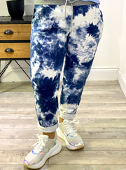 Magic Stretch Jogger tie-die Marble