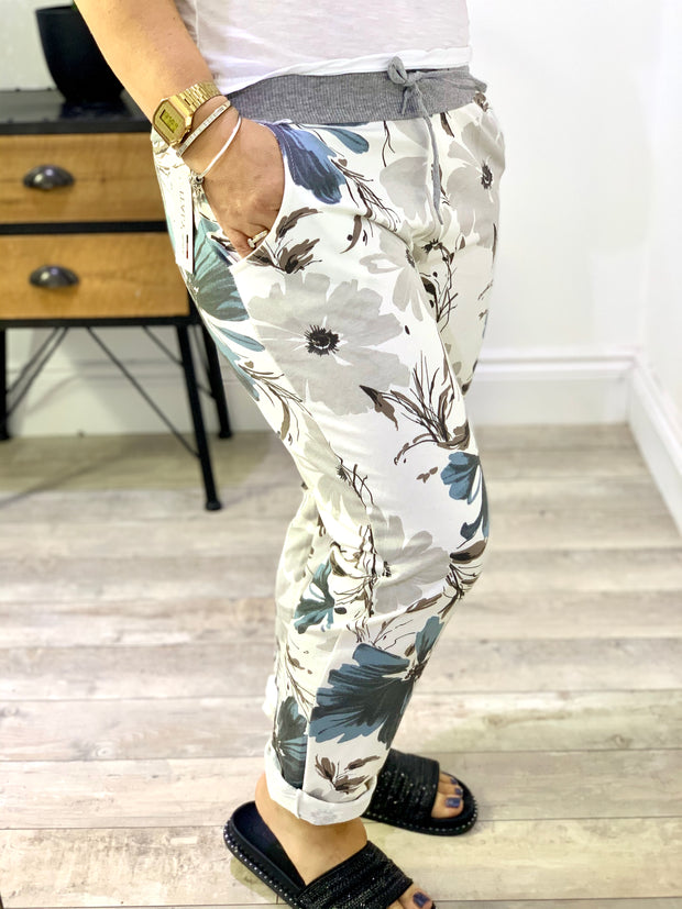 Magic Stretch Jogger pansy