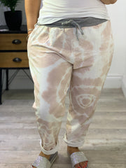 Plus Size Magic Tracksuit Jogger tie die Cargo Pants