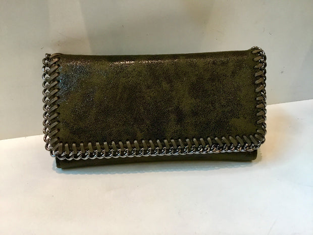 Stella McCartney Style Purse In Khaki