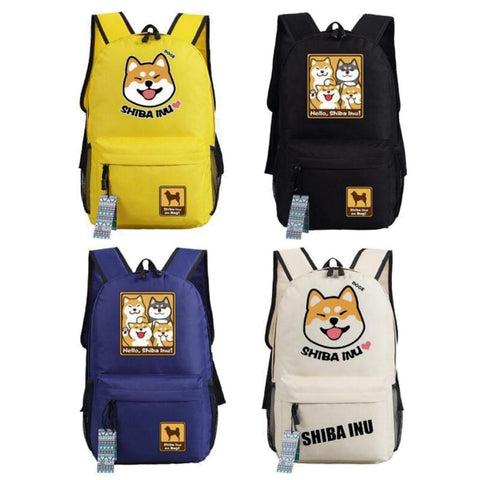 Shiba Inu Doge Anime Dog Backpack