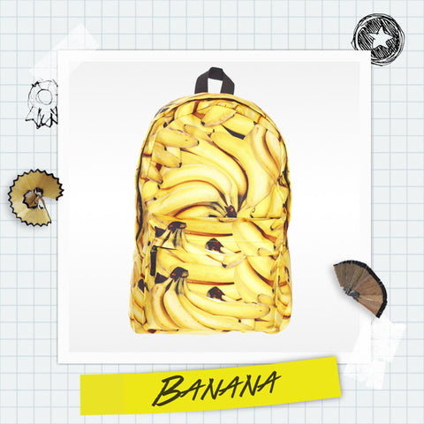 Canvas Banana Backpack