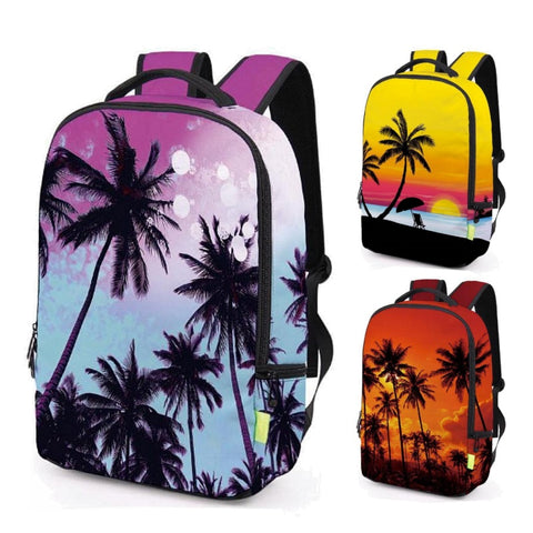 California Beach / Palm Tree Backpack