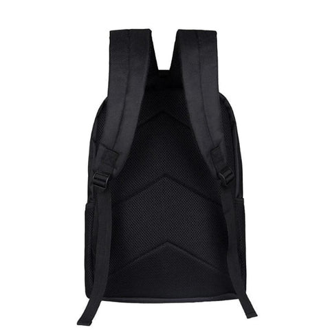 "Abstract Raging Cobra Print Backpack (16"")"