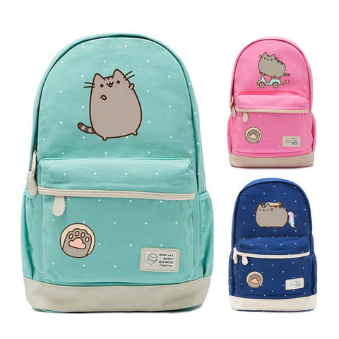 Cute Pusheen Cat Backpack
