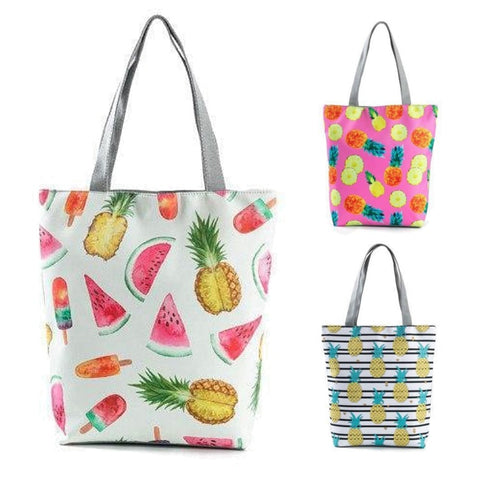 Fruit Pattern Shopping / Tote Bag