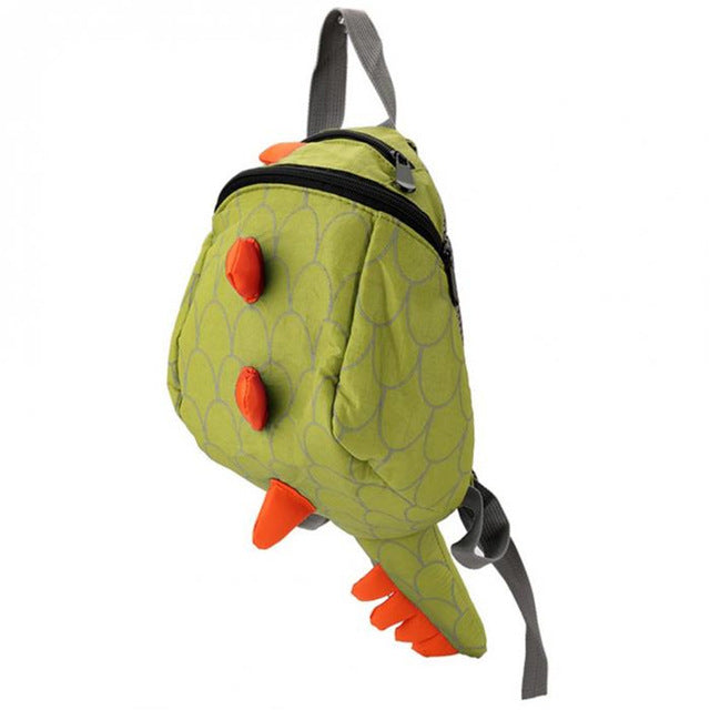 Green Dinosaur Backpack