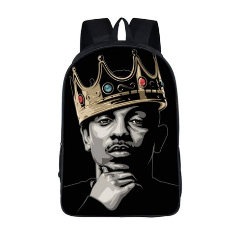 "Hip-Hop Rap Legends Backpack (17"") Kendrick Lamar"