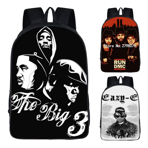 "Hip-Hop Rap Legends Backpack (17"")"