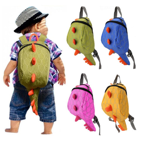 Kids Dinosaur Tail Backpack