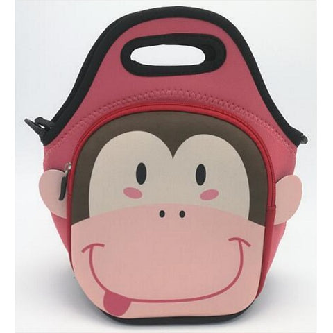 Kids Monkey Lunch Bag