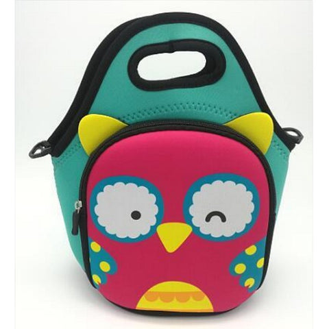 Kids Owl Lunch Bag